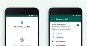 WhatsApp推出指紋辨識功能 提高帳戶安全性